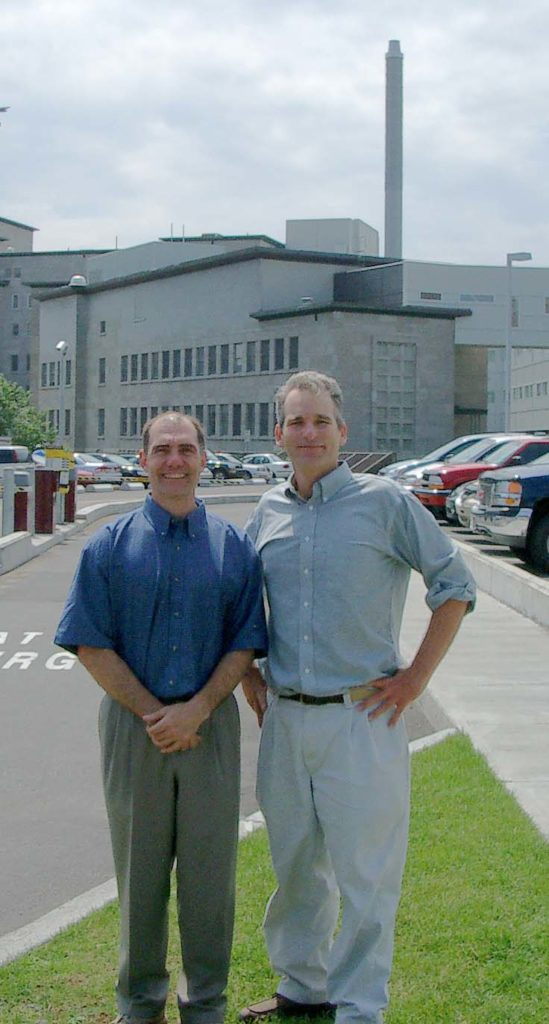 Michel Labrecque and John Curington in Quebec - 2004